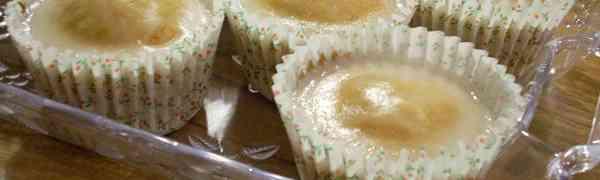 Jogurtowe babeczki bez cukru