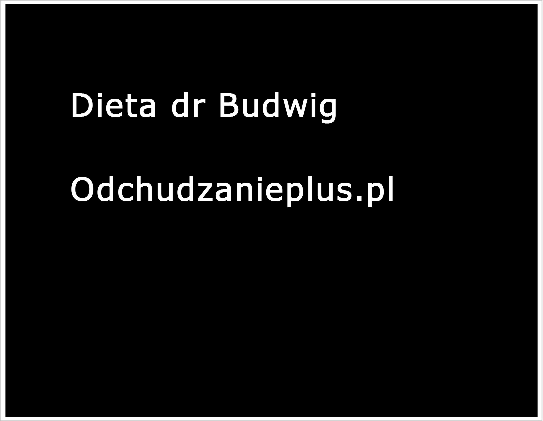Dieta Dr Budwig Blog Trenera Odchudzania Odchudzanieplus Pl