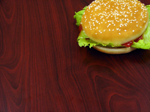 Hamburger light przepisy foto.