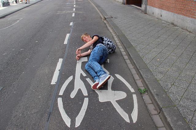 Odchudzanie na rowerze.